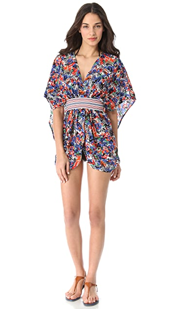 M Missoni Printed Cover Up Top