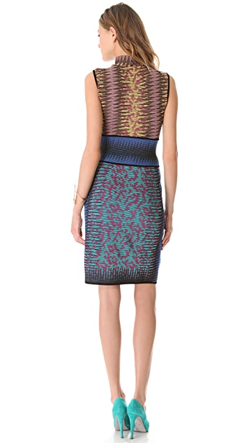 M Missoni Space Dye Cutout Dress