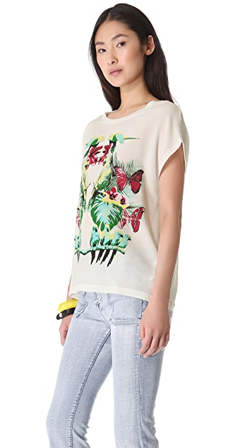 M Missoni Butterfly Tee