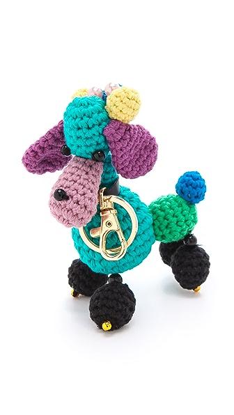 M Missoni Poodle Keychain