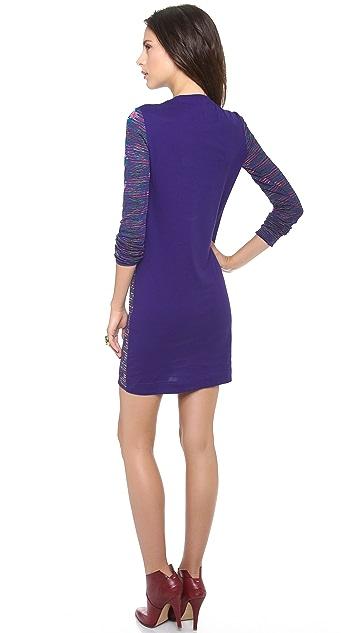 M Missoni Mixed Media Dress