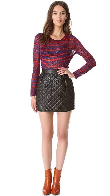 M Missoni Zebra Slubbed Sweater