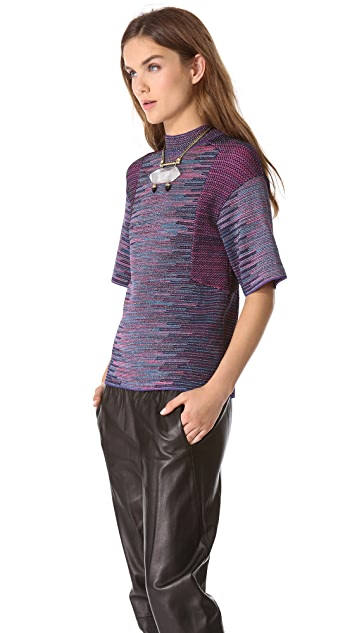 M Missoni Lurex Space Dye Top
