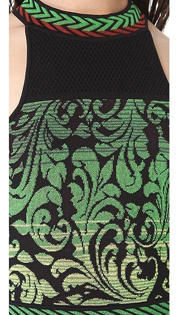 M Missoni Brocade Intarsia Dress