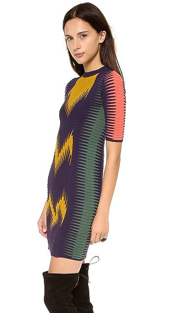 M Missoni Zigzag Ikat Dress