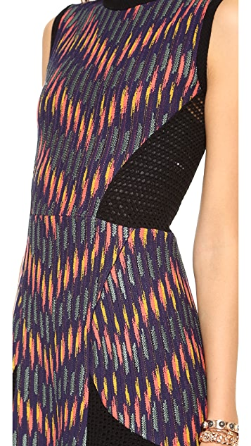 M Missoni Broken Zigzag Sleeveless Dress