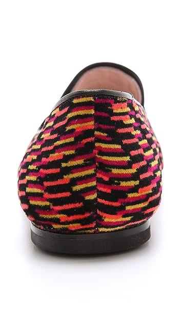M Missoni Printed Smoking Slippers