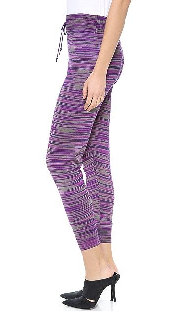 M Missoni Space Dye Knit Track Pants