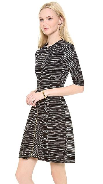 M Missoni Neoprene Space Dye Zip Dress