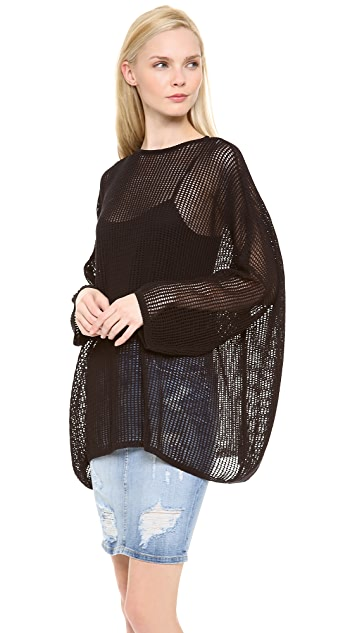 M Missoni Cotton Mesh Sweater