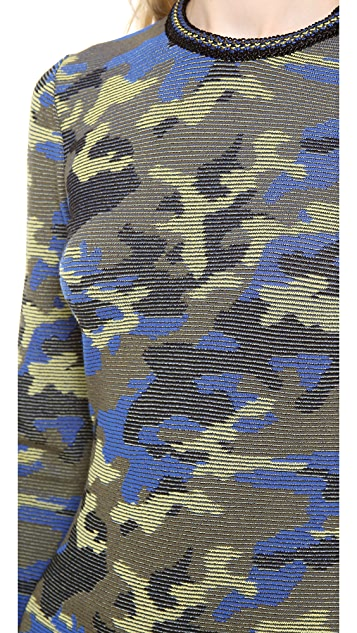 M Missoni Camouflage Mix Pullover