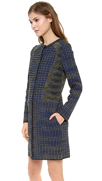 M Missoni Space Dye Tweed Coat