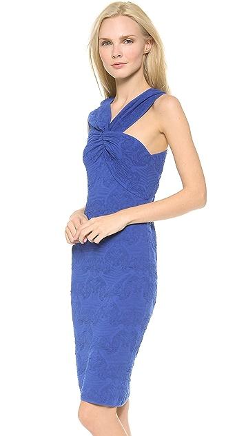M Missoni Floral Asymmetrical Dress