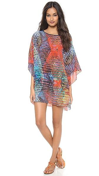 M Missoni Kaleidoscope Silk Caftan
