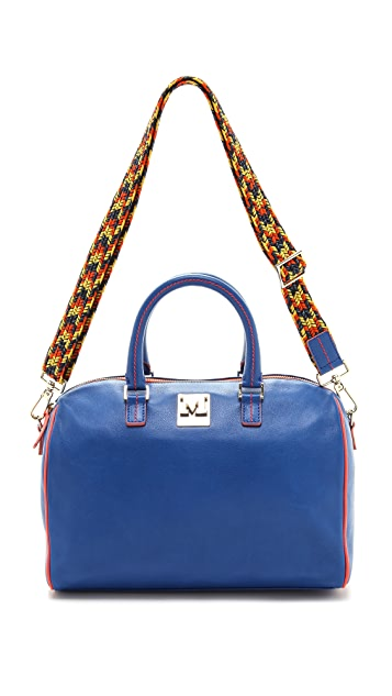 M Missoni Leather Satchel