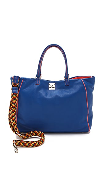 M Missoni Leather Tote