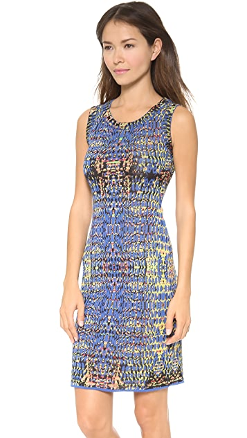 M Missoni Digital Batik Tank Dress