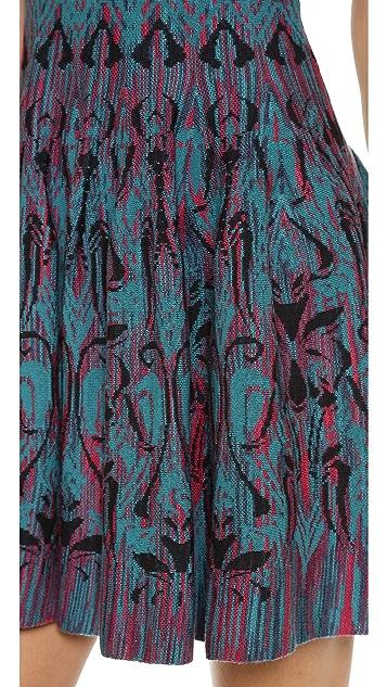 M Missoni Art Deco Fleur de Lis Jaquard Dress