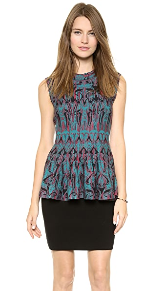 M Missoni Art Deco Jacquard Top