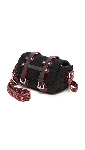 M Missoni Boucle Knit Messenger