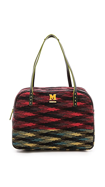 M Missoni Printed Satchel