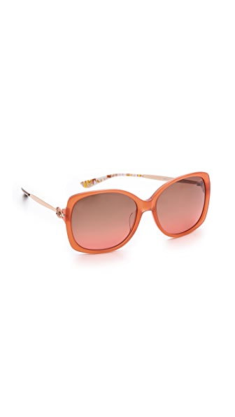 M Missoni Oversized Square Sunglasses