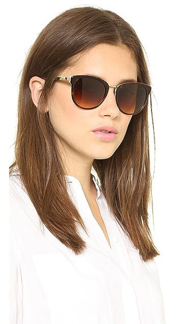 M Missoni Oval Lens Sunglasses