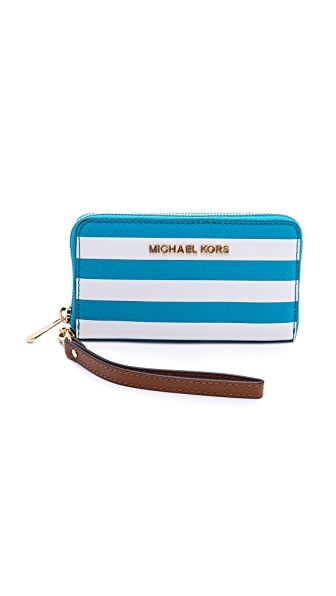 MICHAEL Michael Kors Zip Around Phone Case