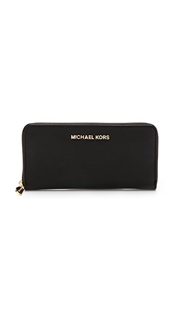 MICHAEL Michael Kors Jet Set Zip Around Continental Wallet