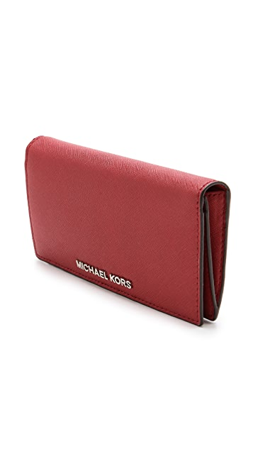MICHAEL Michael Kors Jet Set Travel Large Slim Wallet