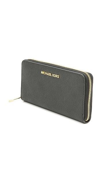 MICHAEL Michael Kors Zip Around Continental Wallet