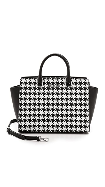 MICHAEL Michael Kors Selma Printed Large Two Zip Tote