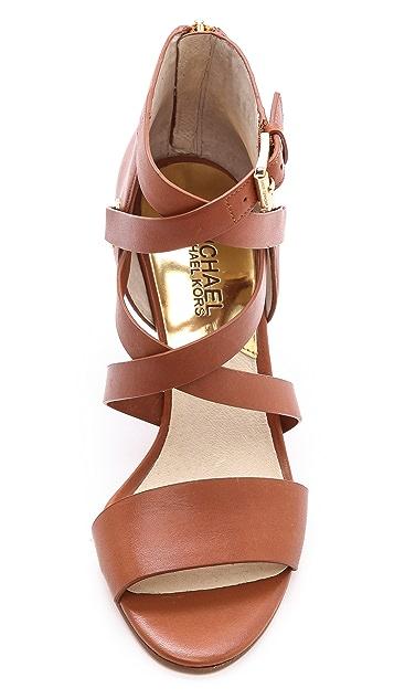 MICHAEL Michael Kors Theodore Cross Strap Sandals