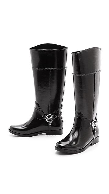 MICHAEL Michael Kors Fulton Harness Tall Rain Boots