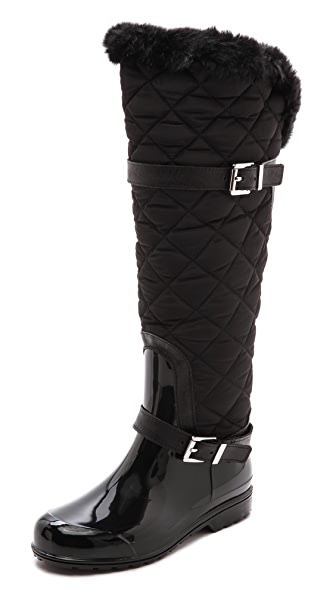 MICHAEL Michael Kors Fulton Quilted Rain Boots | SHOPBOP