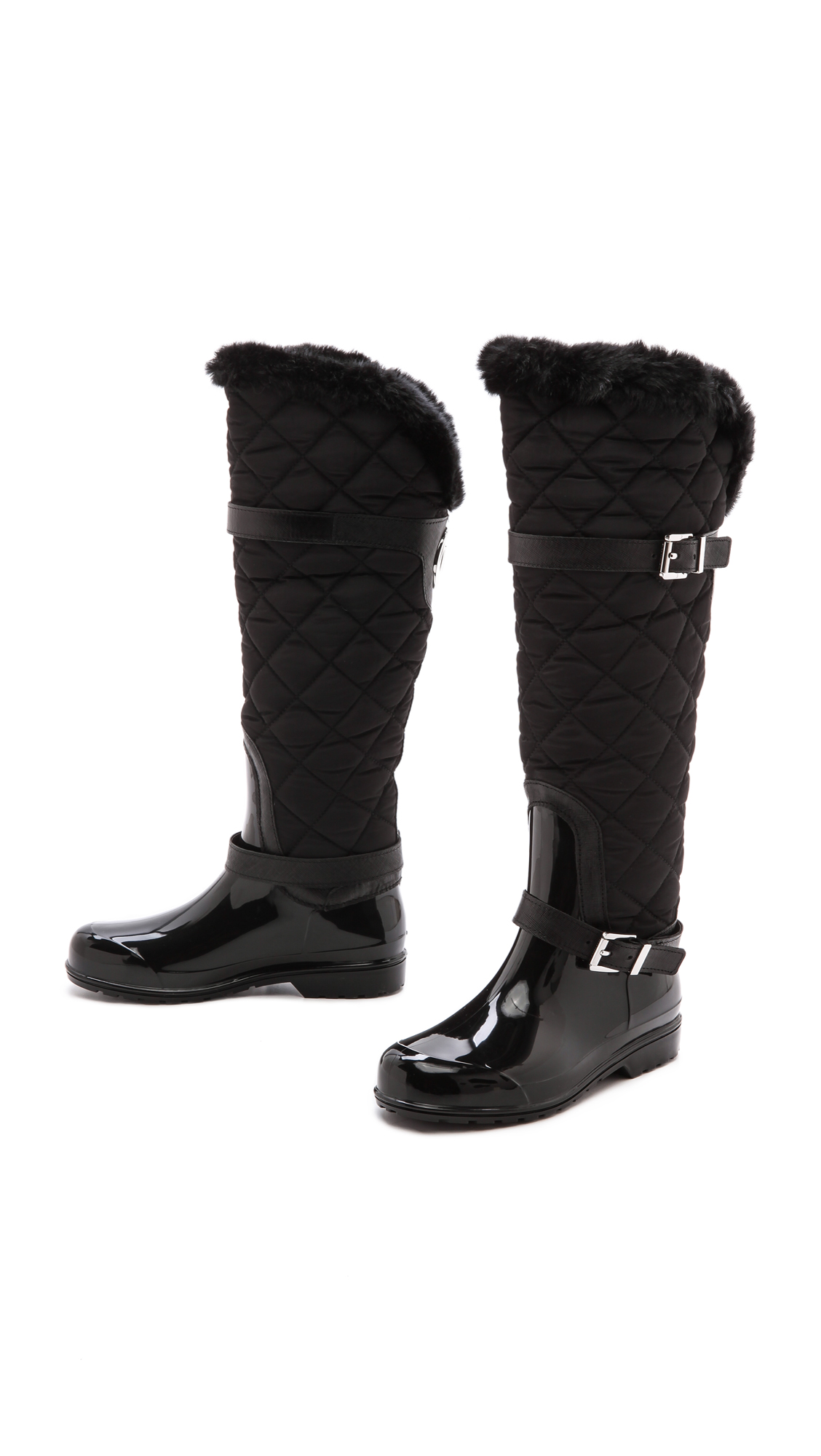 MICHAEL Michael Kors Fulton Quilted Rain Boots | SHOPBOP : michael kors fulton quilt - Adamdwight.com