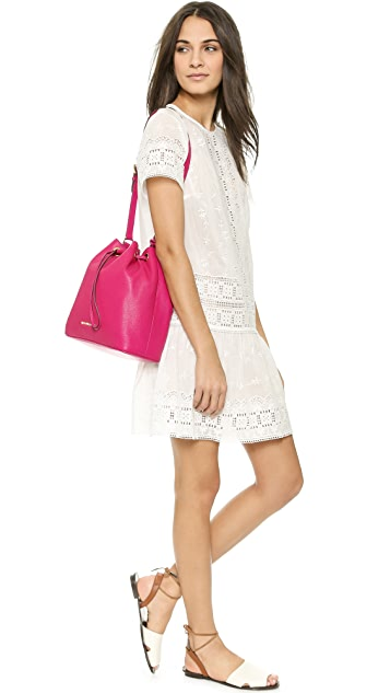 MICHAEL Michael Kors Jules Large Drawstring Bucket Bag