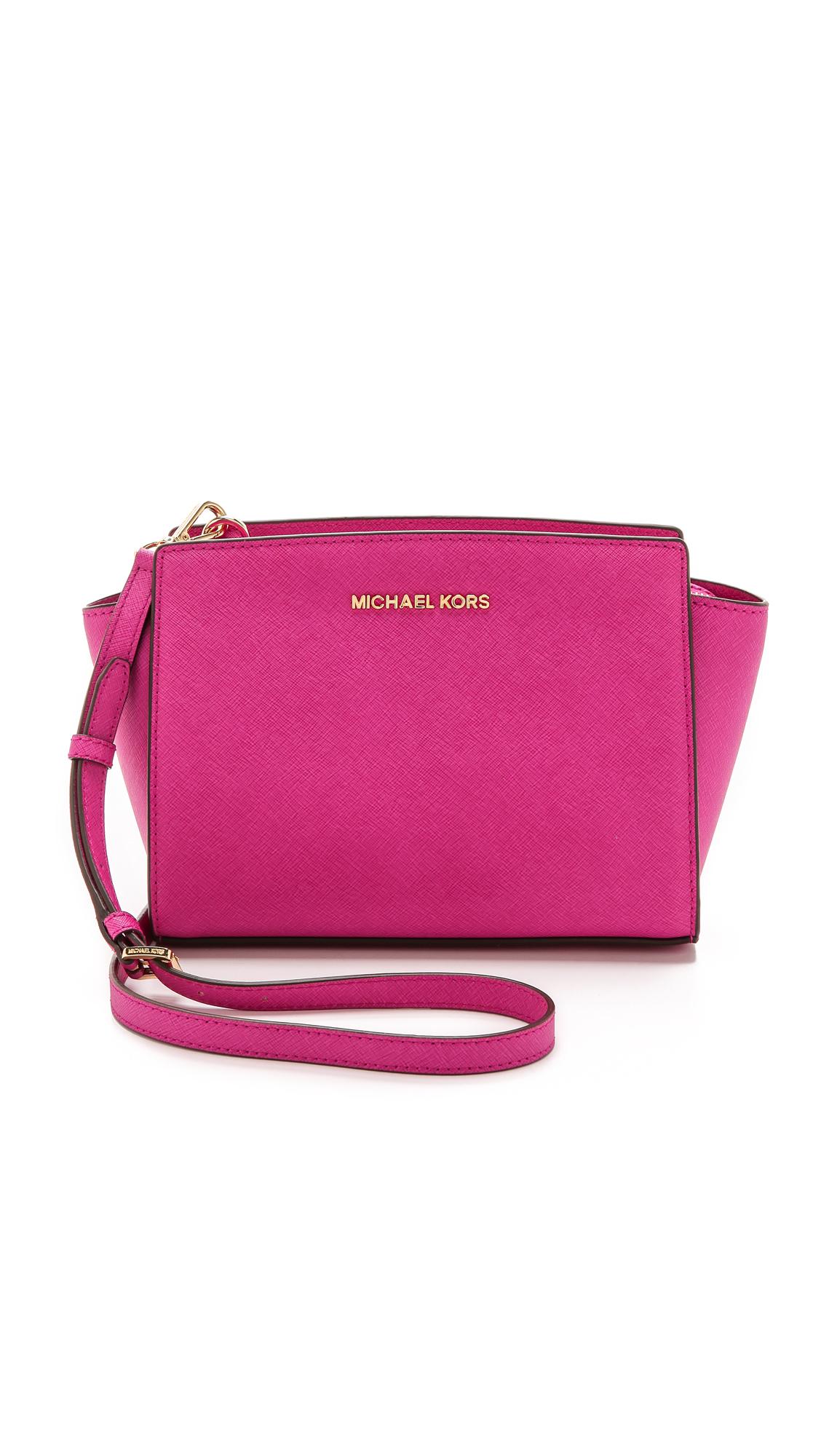 Michael Kors Selma Medium Messenger Bag Shopbop Lilac Authentic