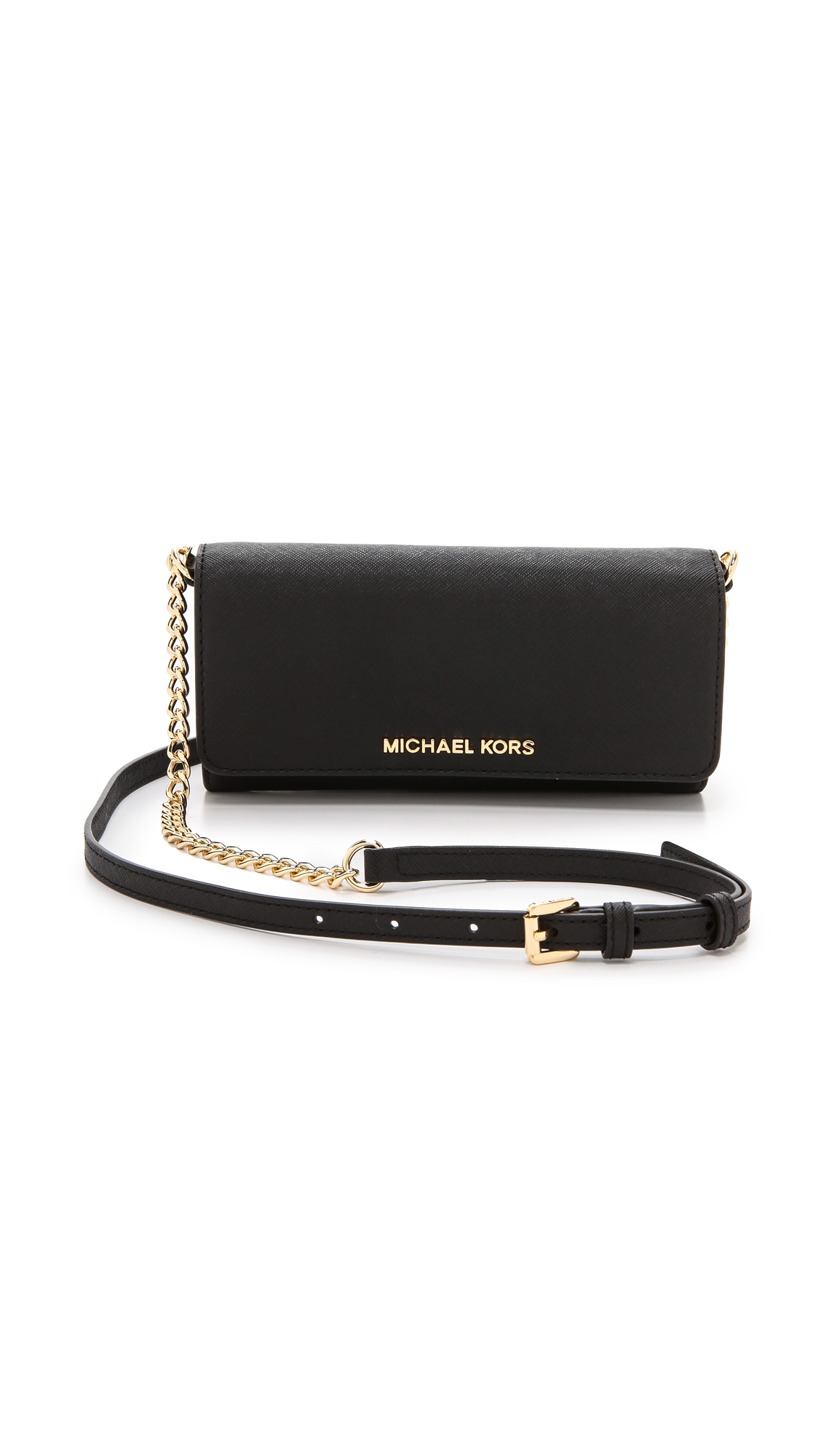 773a7e996b49 MICHAEL Michael Kors Jet Set Chain Travel Wallet