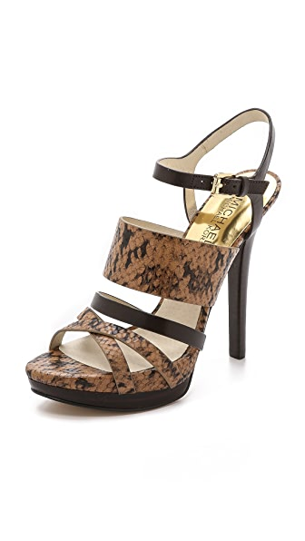 MICHAEL Michael Kors Nadja Platform Sandals