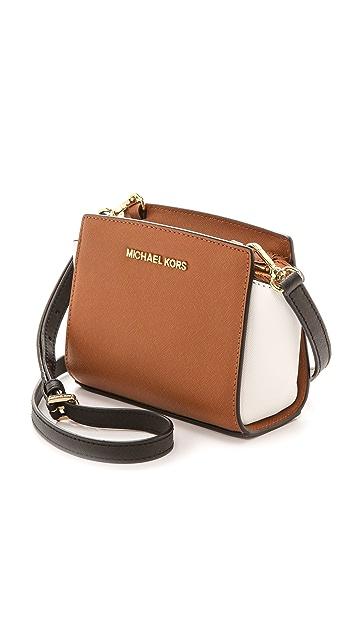 MICHAEL Michael Kors Colorblock Selma Mini Messenger Bag