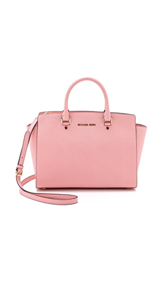 MICHAEL Michael Kors Selma Large Top Zip Satchel