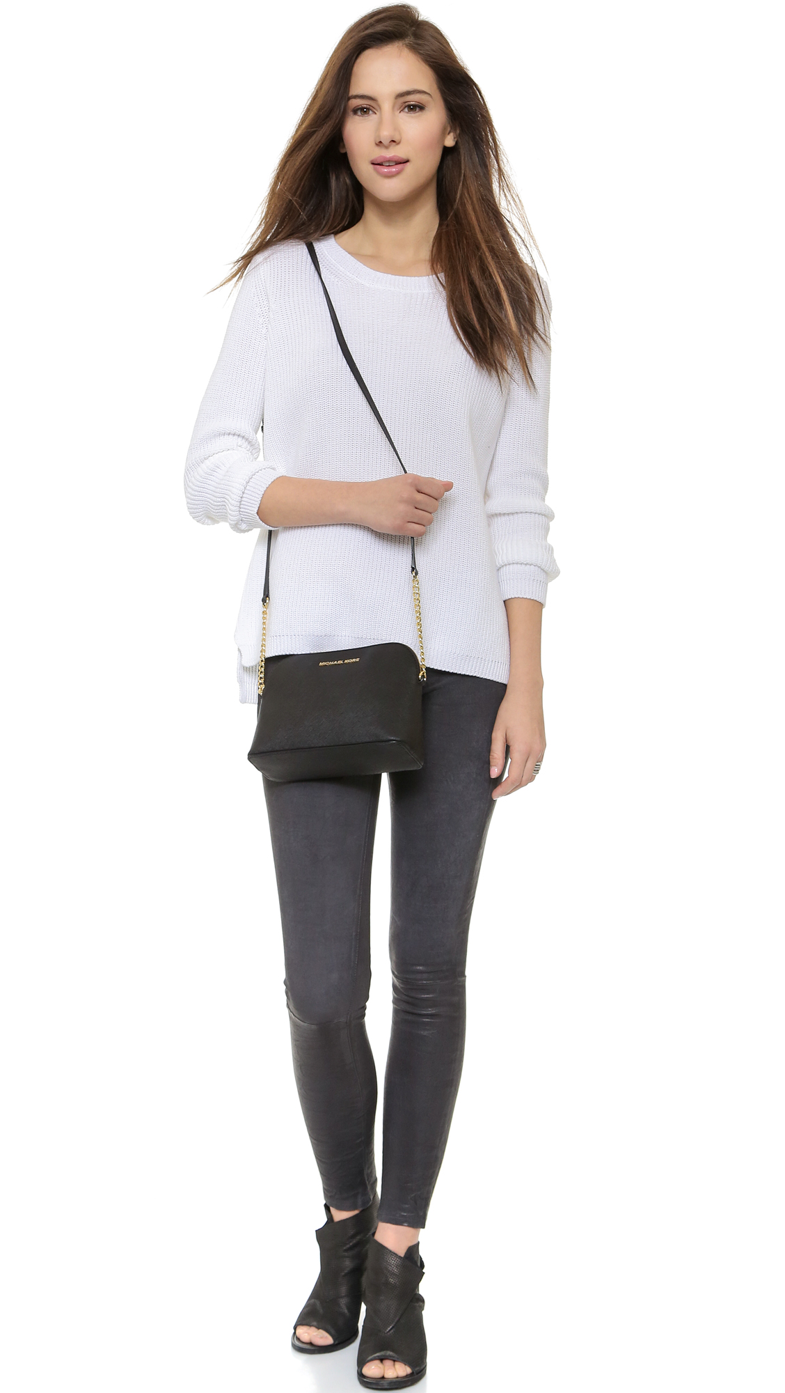 cd6998fff017 MICHAEL Michael Kors Cindy Dome Cross Body Bag | SHOPBOP