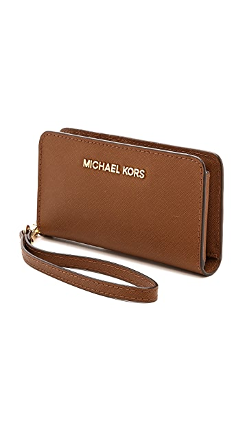 MICHAEL Michael Kors Jet Set Slim Tech Wallet