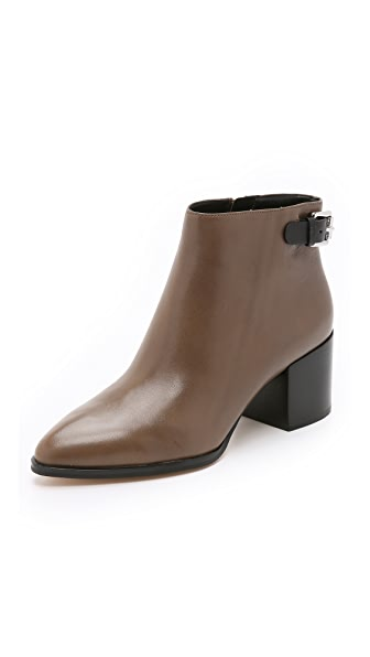 Shop MICHAEL Michael Kors online and buy Michael Michael Kors Saylor Ankle Boots Elephant/Black shoes online