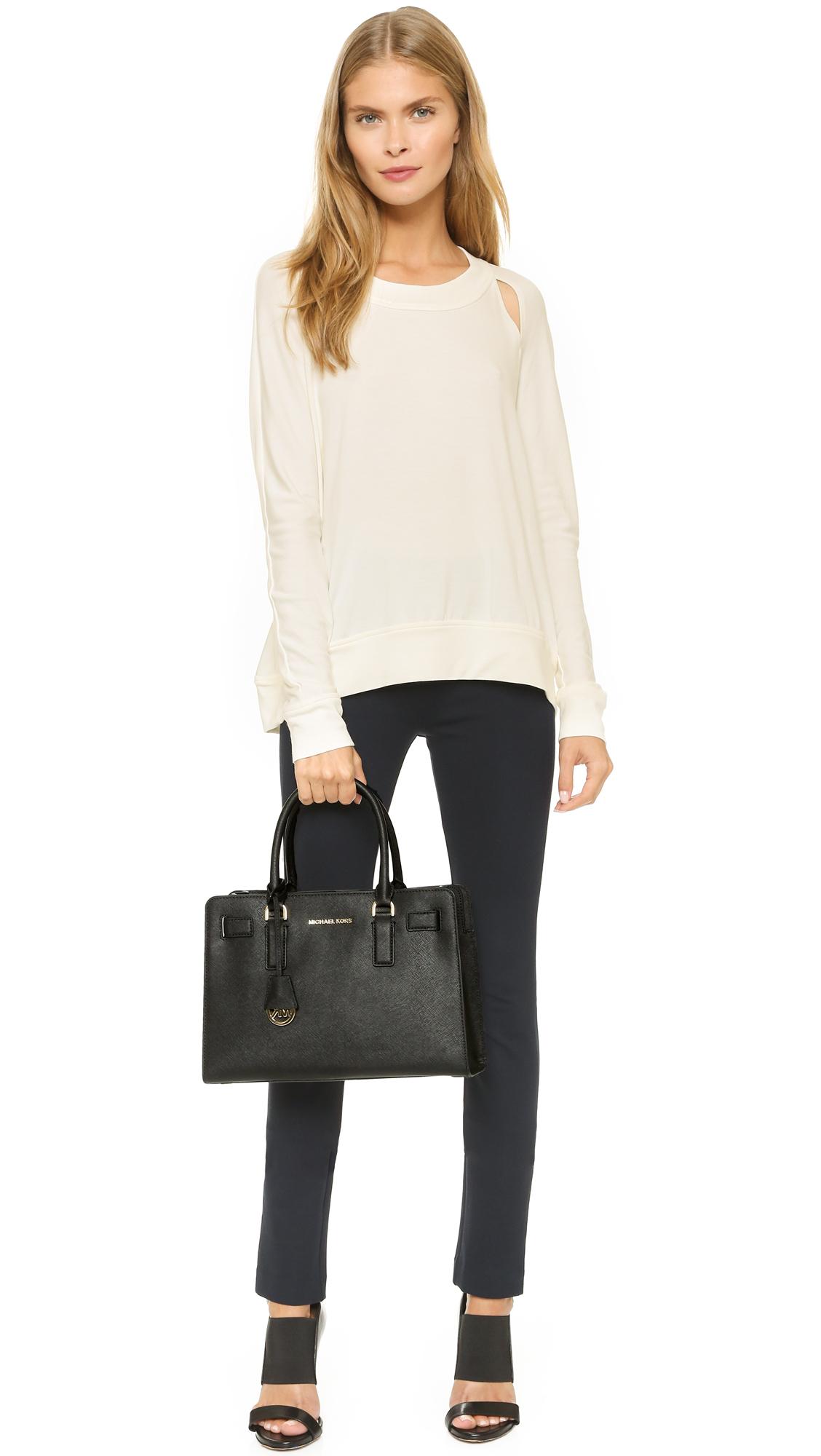 598d74442de268 greece handtasche michael kors dillon tz ew satchel black 52809 44ecb;  netherlands michael michael kors dillon satchel shopbop 61030 f7672