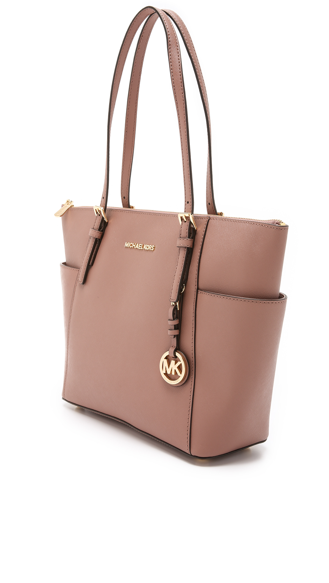abc5dc09ace2 MICHAEL Michael Kors Jet Set Top Zip Tote