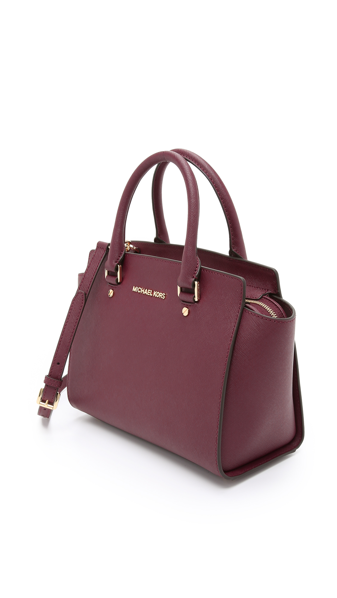 6a71084f84f9 new zealand michael michael kors selma medium top zip satchel shopbop 3489b  d35e6