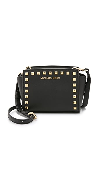 MICHAEL Michael Kors Selma Stud Mini Messenger Bag