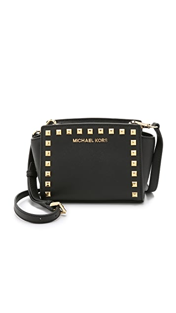 MICHAEL Michael Kors Selma Stud Mini Messenger Bag